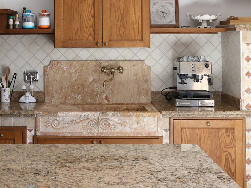 lavabo marmo, bancone cucina marmo